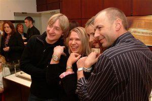 Евгений Плющенко, Екатерина Павленко (Eurotime), Татьяна Навка и Александр Жулин