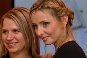 Екатерина Павленко (Eurotime) и Татьяна Навка